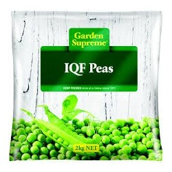 PEAS INDIVIDUALLY QUICK FROZEN 2KG