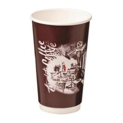 CAFE MONTMARTRE DOUBLE WALL PAPERE CUP 460ML