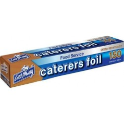 CATERERS FOIL EXTRA HEAVY DUTY 44CM X 15M 150M