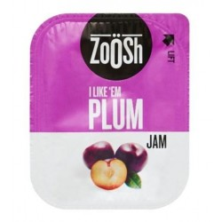 PLUM JAM PORTIONS 50S 13.6GM