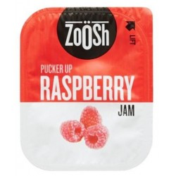 JAM RASPBERRY PORTIONS 50S 13.6GM