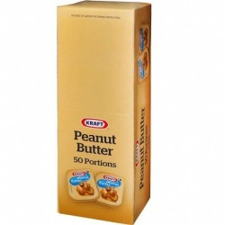 PEANUT BUTTER PORTIONS 50X11GM