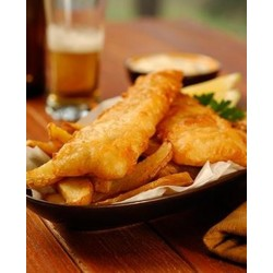 BEER BATTERED FISH 115GM PORTION 3.45KG