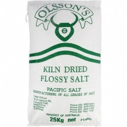 DRIED FLOSSY PACIFIC SALT 25KG