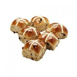 HOT CROSS BUNS TRADTIONAL 6PK