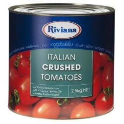 ITALIAN CRUSHED TOMATOES 2.5KG