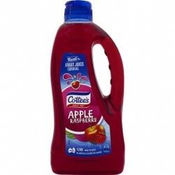 APPLE RASPBERRY CORDIAL 1LT