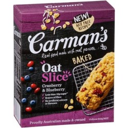CRANBERRY & BLUEBERRY OAT SLICE 210GM