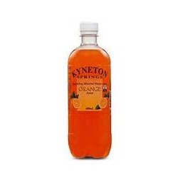 ORANGE MINERAL WATER 600ML