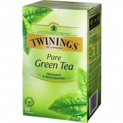 LONDON PURE GREEN TEABAGS 50S