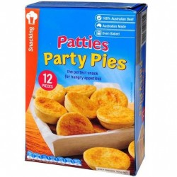 PIES PARTY 12 PACK 560GM