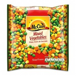 PEAS CORN AND CARROTS 500GM