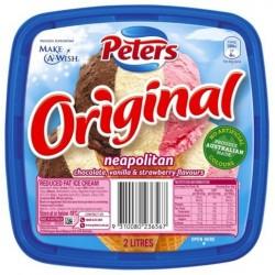 PETERS ORIGINAL NEAPOLITAN ICE CREAM 2L