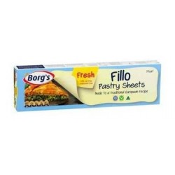 CHILLED FRESH FILLO SHEETS 375GM