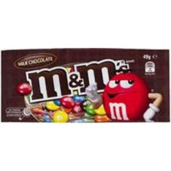 M&Ms PLAIN MILK CHOC 49GM