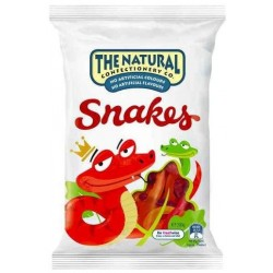 NATURAL CONFECTIONERY SNAKES 200GM