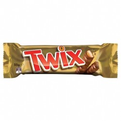 TWIX TWIN BAR 55GM