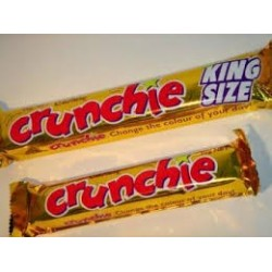CRUNCHIE BAR KING SIZE 80GM