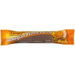 EUROPE NOUGAT HONEY LOG 40GM