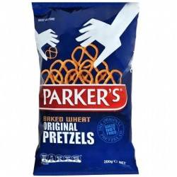 BAKED WHEAT PRETZEL TWISTS 200GM