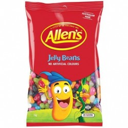 JELLY BEANS ASSORTED 1KG