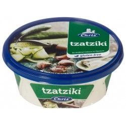 CHRIS DIPS TRADITIONAL TZATZIKI 200GM