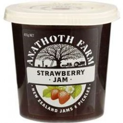 ANATHOTH FARM RASPBERRY JAM 455GM