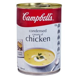 CONDENSED SOUP CREAM OF CHICKEN 420G