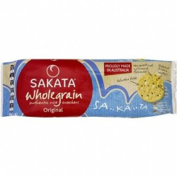 WHOLEGRAIN ORIGINAL RICE CRACKERS 90G