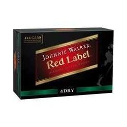 RED & DRY 4.6% CAN 24X375ML
