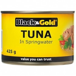 TUNA CHUNKS IN SPRINGWATER 425G