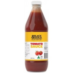 BLACK&GOLD TOMATO SAUCE 600ML