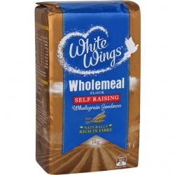 WHOLEMEAL SELF RAISING FLOUR 1KG