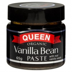 ORGANIC VANILLA BEAN PASTE 65GM