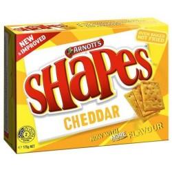 SHAPES CHEDDAR 175GM