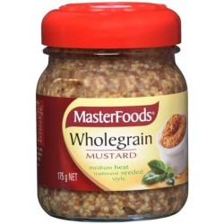 WHOLEGRAIN SEEDED MUSTARD 175GM
