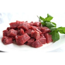 BEEF DICED 20MM CUT ,KG