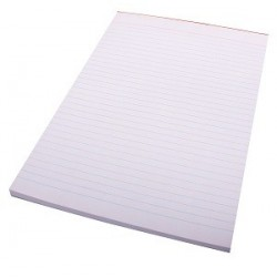 PAD WRITING A4 100 LEAF 121405