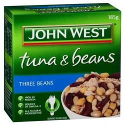 TUNA & BEANS THREE BEANS 185g