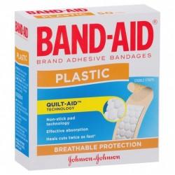 BANDAID PLASTIC STRIPS 50S