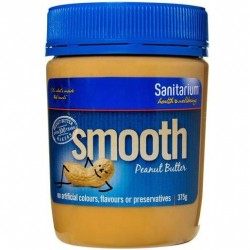 SMOOTH PEANUT BUTTER 375GM