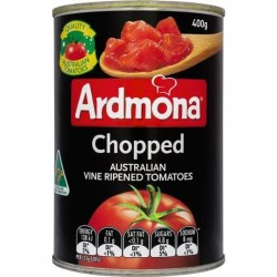 CHOPPED TOMATOES 400g