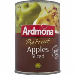 SLICED APPLES PIE FRUIT 400GM