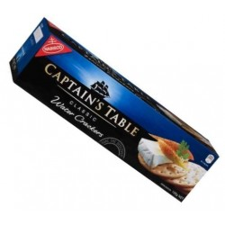 CAPTAIN'S TABLE CLASSIC WATER CRACKERS 125g