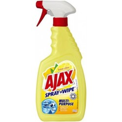 AJAX SPRAY N WIPE LEMON TRIGGER 500ML