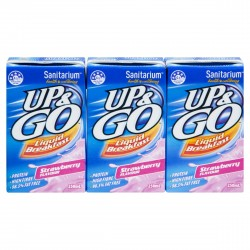 STRAWBERRY UP & GO 250ml 6 PACK