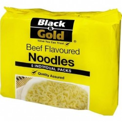 BEEF FLAVOURED NOODLES 5 PACK 85GM