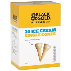 ICE CREAM SINGLE CONES 30S