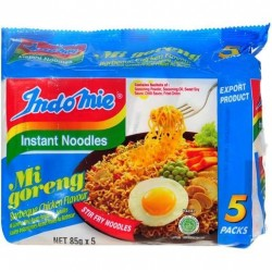 MI GORENG INSTANT NOODLE BARBEQUE CHICKEN 5X85GM