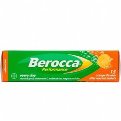 BEROCCA PERFORMANCE ORANGE EFFER 15'S